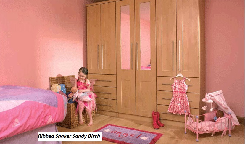 Ribbed Shaker Sandy Birch