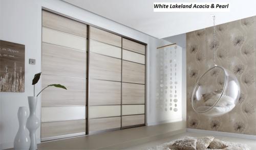 White Lakeland Acacia & Pearl