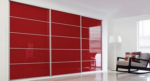 red-sliding-wardrobe
